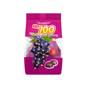 Lot 100 Gummies - Blackcurrant (150g)