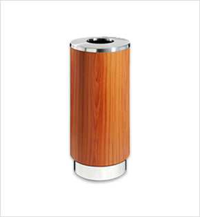 Wood-Finished Centralised Bin - 106L (Wood Brown)