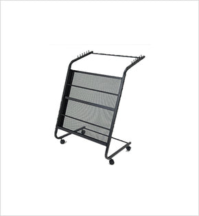 Newspaper & Magazine Stand - 6 Newspapers (Black)