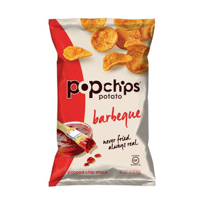 Popchips Potato Chips Barbeque (24 packets/box)