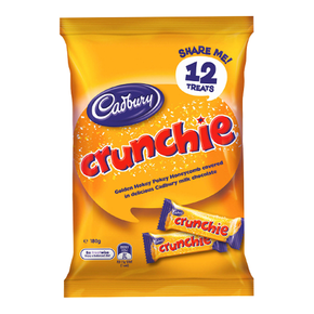 Cadbury Dairy Milk Crunchie - Honeycomb Milk Chocolate (12 x 15g)