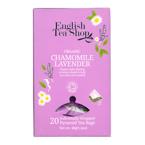 English Tea Shop Organic - Chamomille Lavender (20 x 2g)