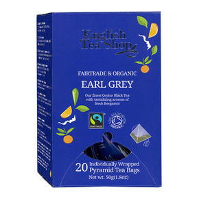English Tea Shop Organic - Earl Grey (20 x 2g)