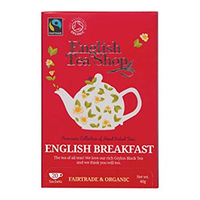 English Tea Shop Organic - English Breakfast (20 x 2g)