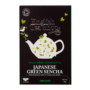 English Tea Shop Organic - Japanese Green Sencha (20 x 2g)