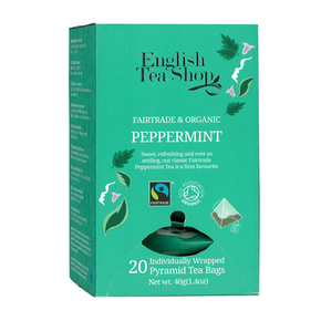 English Tea Shop Organic - Peppermint (20 x 2g)