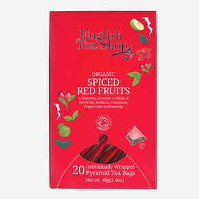 English Tea Shop Organic - Spiced Red Fruits (20 x 2g)