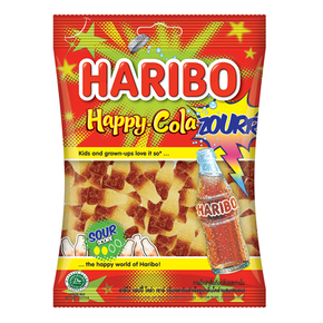 Haribo Gummy Candy - Cola (160g)