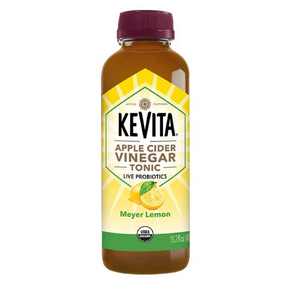 Kevita Gluten Free Organic Meyer Lemon Apple Cider Vinegar Tonic  (6 x 450ml)