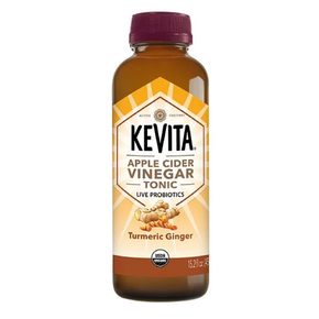 Kevita Gluten Free Organic Tumeric Ginger Apple Cider Vinegar Tonic   (6 x 450ml)