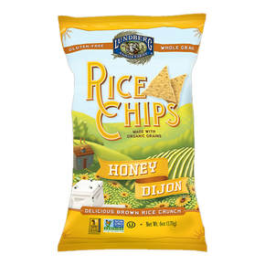 Lunderg Gluten Free Organic Honey Dijon Rice Chip  (170g)