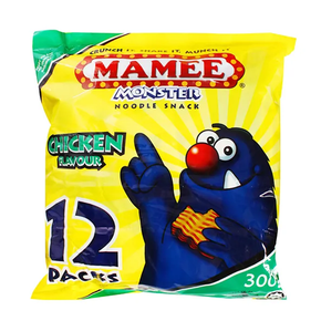 Mamee Noodle Snack - BBQ (12 x 25g)