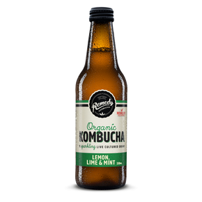 Remedy Organic Kombucha Lemon Lime and Mint (250ml)