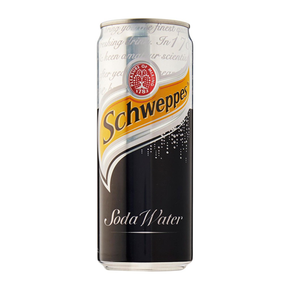 Schweppes Soda Water (24 x 320ml)