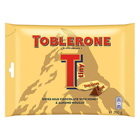 Toblerone Mini Milk Chocolate - Honey and Almond Nougat (25 x 8g)