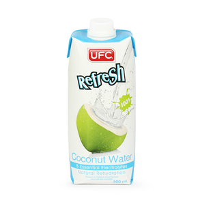 UFC 100% Natural Coconut Water (12 x 500ml)