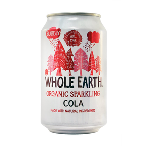 Whole Earth Organic Cola Soda  (24 x 330ml)