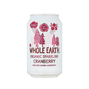 Whole Earth Organic Cranberry Soda (24 x 330ml)