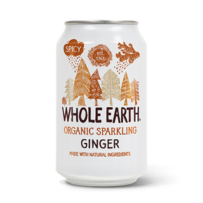 Whole Earth Organic Ginger Soda (24 x 330ml)