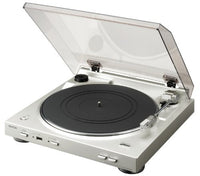 Denon DP-200 USB Turntable - Silver