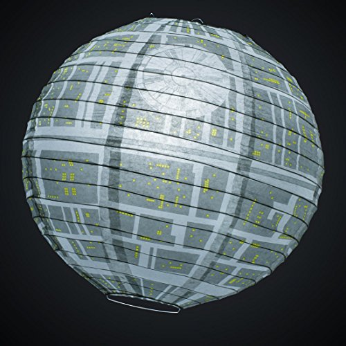 Star Wars Death Star Paper Lamp Shade - Official Star Wars Merchandise