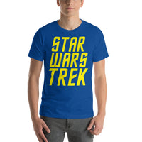 "Classic T-Shirt (True Royal) - Design ""Star Wars Trek"""