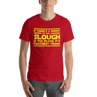 "Classic T-Shirt (Red) - Design ""Slough"""