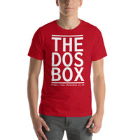 "Classic T-Shirt (Red) - Design ""www.thedosbox.co.uk"""