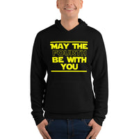 "Classic Hoodie (Black) - Design ""May The Fourth..."""