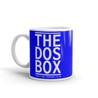 "11oz Mug (Blue) - Design ""www.thedosbox.co.uk"""