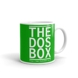 "11oz Mug (Green) - Design ""www.thedosbox.co.uk"""
