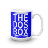 "15oz Mug (Blue) - Design ""www.thedosbox.co.uk"""