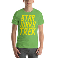 "Classic T-Shirt (Leaf) - Design ""Star Wars Trek"""