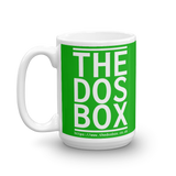 "15oz Mug (Green) - Design ""www.thedosbox.co.uk"""