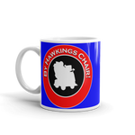 "11oz Mug (Blue) - Design ""By Hawkings Chair!"""