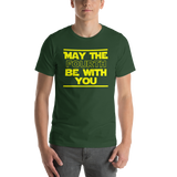 "Classic T-Shirt (Forest) - Design ""May The Fourth..."""