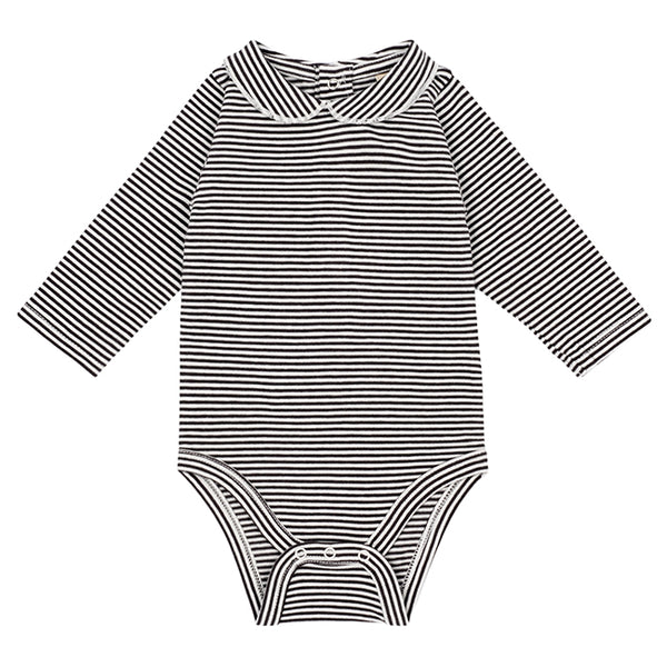 Baby onesie with collar