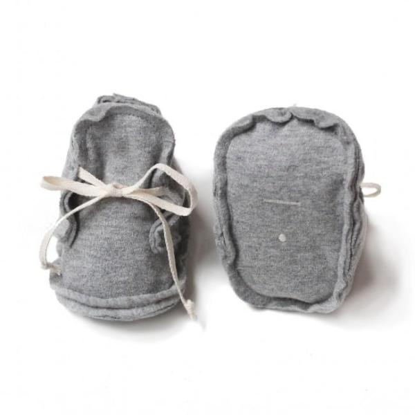 baby booties gray label kind