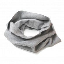endless scarf gray label in vintage grey