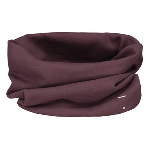 endless scarf by gray label in plum