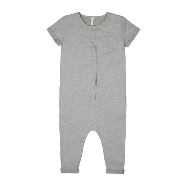 short sleeve suit gray label kind pyjama grey melange