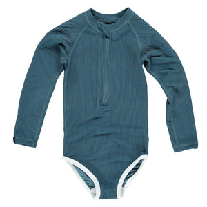 Ocean Ribbed Suit