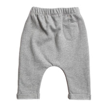 KiND south africa kids fashion baby pant grey melange sustainable cotton by gray label back