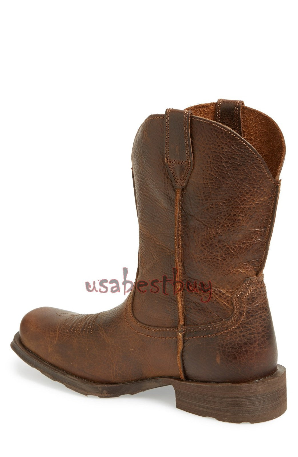New Handmade Real Leather Ankle High Boots, Men Latest leather boots, High Boots