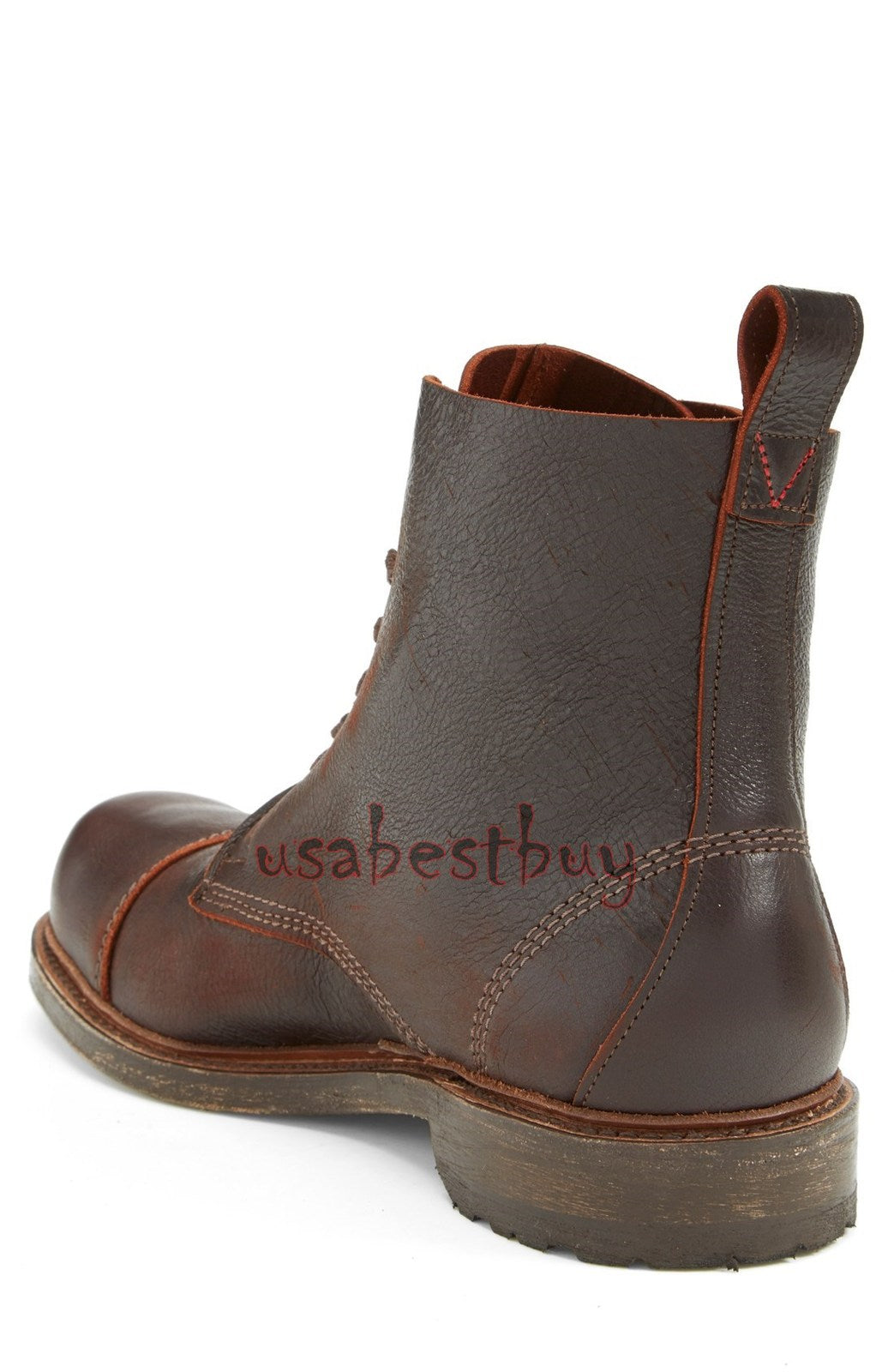New Handmade Antique Style Real Leather Ankle Boots, Men Stylish leather boots