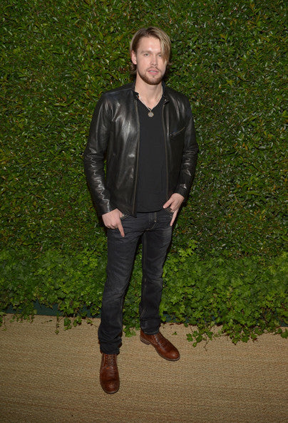 CUSTOM CHORD OVERSTREET CLASSIC BLACK LEATHER JACKET,MEN FASHION JACKET