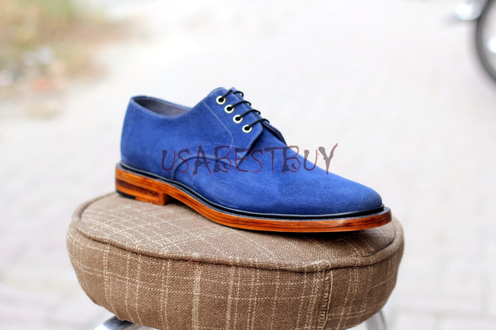 Custom Handmade Men Simple Style Real Leather Shoes, men formal shoes