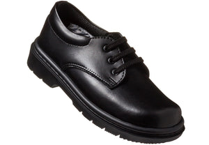 School shoe in Black