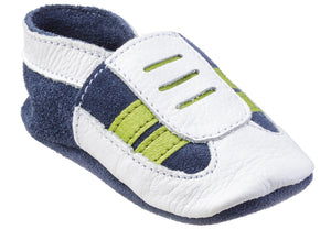 Baby Boys' Genuine Leather Shoe - Navy