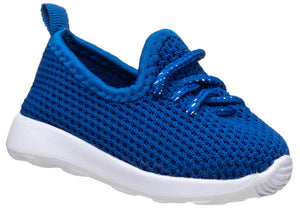 Blue Lace-up Trainer for baby boys